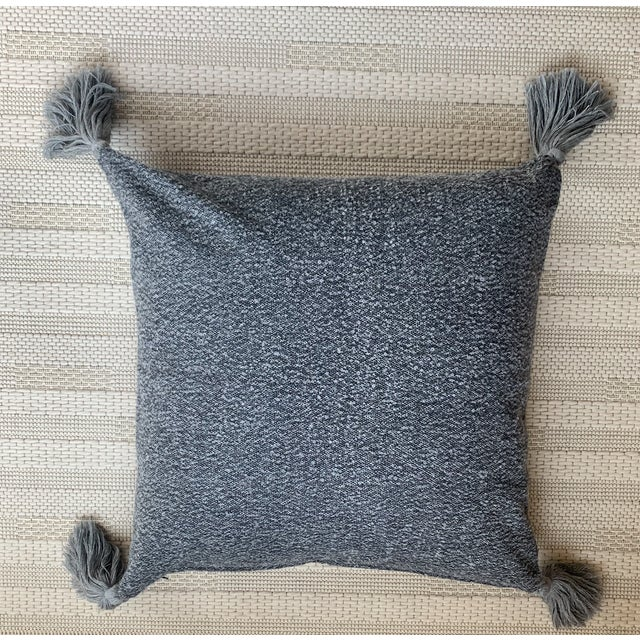 Contemporary Featured in The 2020 San Francisco Decorator Showcase — Sefte Alpaca Accent Pillow For Sale - Image 3 of 3