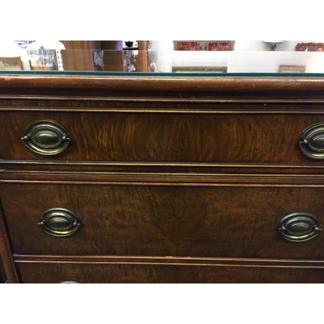 Brown Vintage Bernhardt Sideboard Buffet For Sale - Image 8 of 10