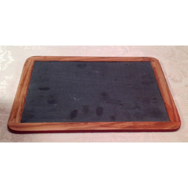 Vintage School House Red Chalk Board - Image 4 of 7