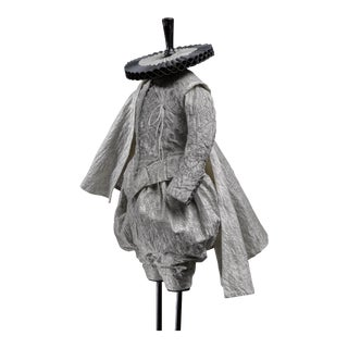 Scaled costume from the Shakesperean collection by Rien Bekkers - Early 17th century style male costume For Sale