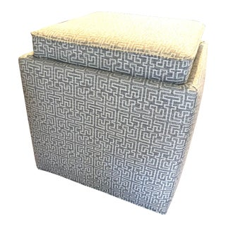 Rowe Nelson Storage Ottoman For Sale