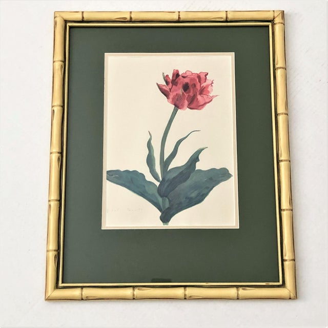 Chinoiserie Vintage Botanical Prints - Set of 4 For Sale - Image 3 of 6