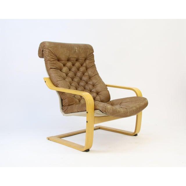Contemporary 1970s Original Noburu Nakamura for Ikea Poem Chair For Sale - Image 3 of 9