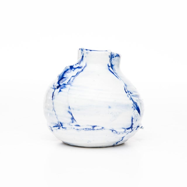 "Lawrence & Scott Yokky Wong ""Cracked"" Teapot For Sale - Image 4 of 7"