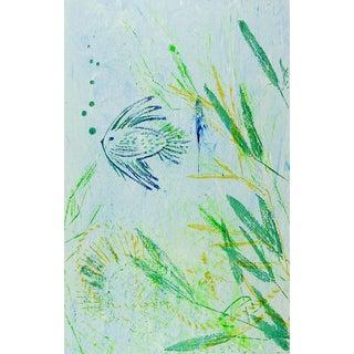 Underwater Scene Serigraph For Sale
