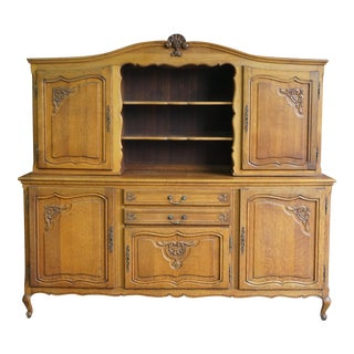 French Provincial China Hutch