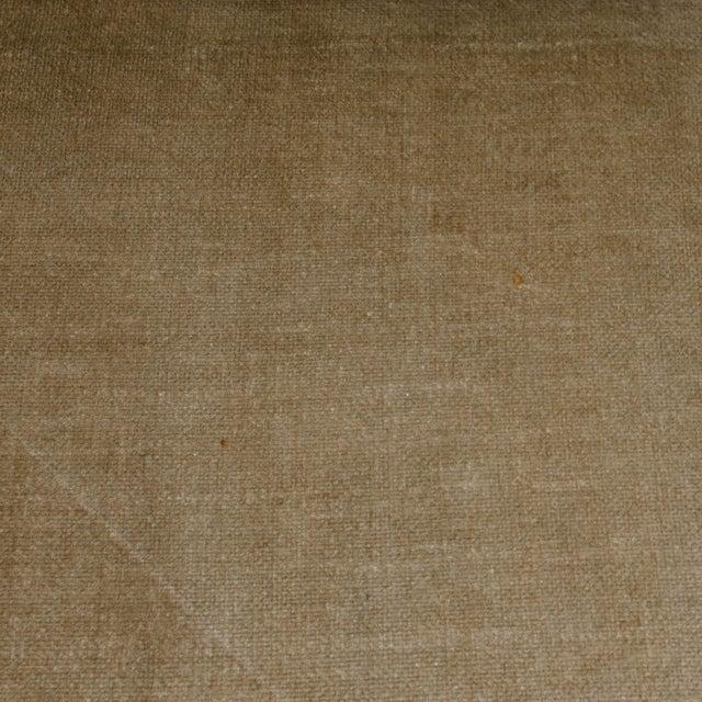 Milo Baughman Style Burl Wood Sofa For Sale - Image 10 of 11