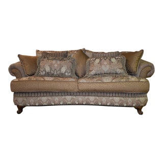 1980s Vintage Town & Country Multi Fabric Designer Sofa For Sale