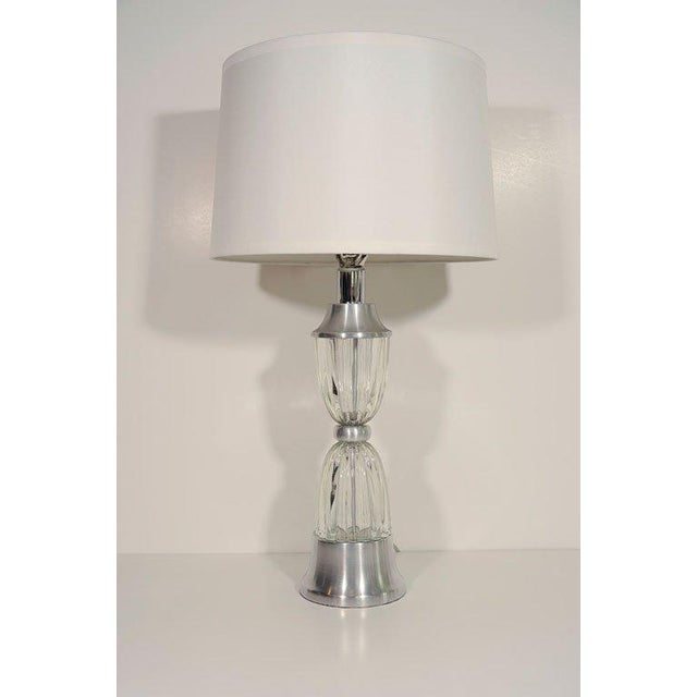 Machine Age Art Deco Stylized Hourglass Lamps by Russel Wright For Sale In New York - Image 6 of 7