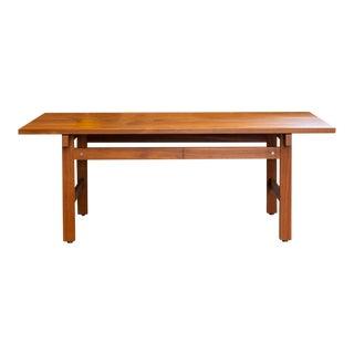 Danish Modern Teak Coffee Table by Hans Wegner for Andreas Tuck For Sale