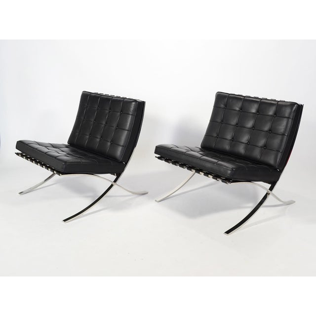 One of the most important and iconic modern chair designs, the Barcelona chair by Ludwig Mies van der Rohe is as stylish...