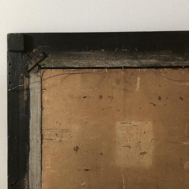 19th C. Reverse Painted Opticians Sign For Sale - Image 4 of 6