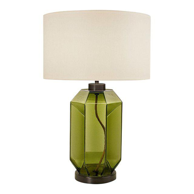 Laguna Hexa Table Lamp in Olive Colour For Sale - Image 4 of 4