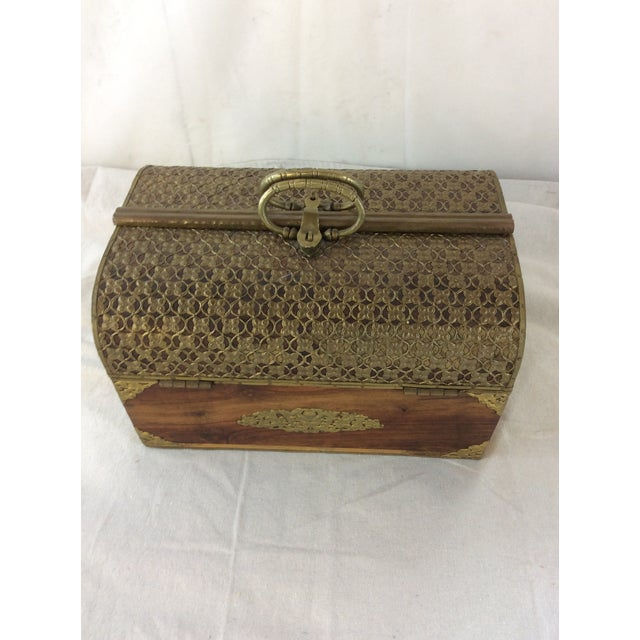 Handmade Indian Bridal Box For Sale - Image 6 of 9