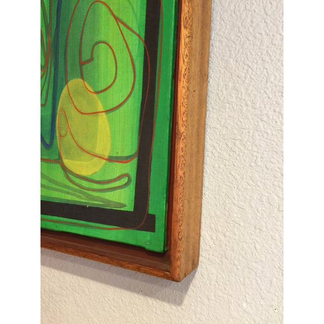 Mid-Century Modern Barbara Blume Abstract Painting - Image 6 of 8