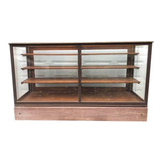 Antique Shop Display Case for Retail Showroom For Sale