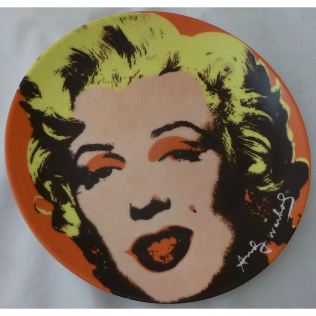 Andy Warhol Marilyn Monroe Dinner Plates - Set of 5 For Sale - Image 5 of 11
