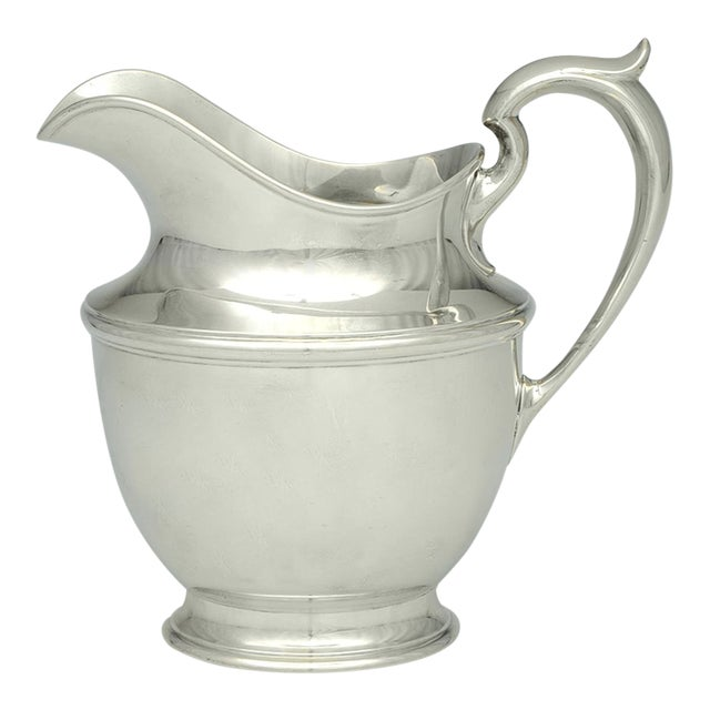 Gorham Silver Sterling 56oz Water Pitcher For Sale