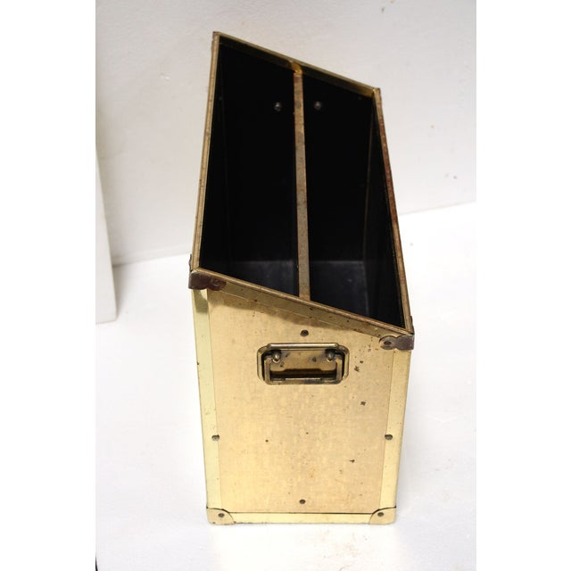 Brass Campaign-Style Magazine Holder - Image 4 of 5