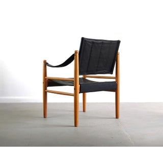 Safari Chair in Oak and Leather Preview