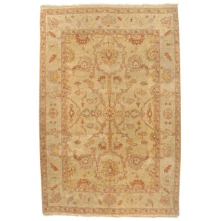 Pasargad Ny Original Oushak Design Hand-Knotted Rug - 6' X 9' For Sale