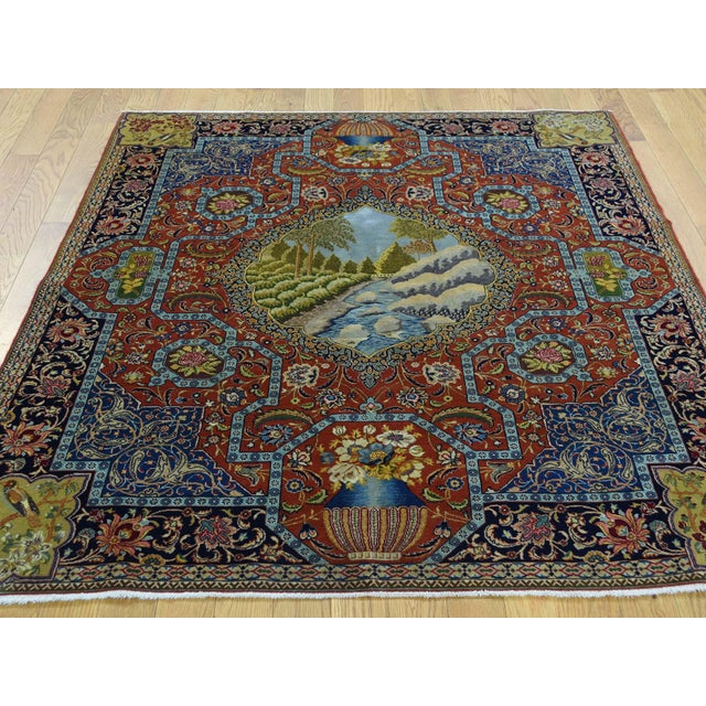This fabulous Hand-Knotted carpet has been created and designed for extra strength and durability. This rug has been...