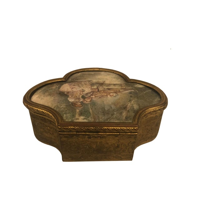 Late 19th Century French Neoclassical Bronze Ormolu Box For Sale In Tampa - Image 6 of 8