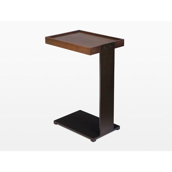Holly Hunt Boulonnais Drink Table. Wood is much darker than appears in pictures.