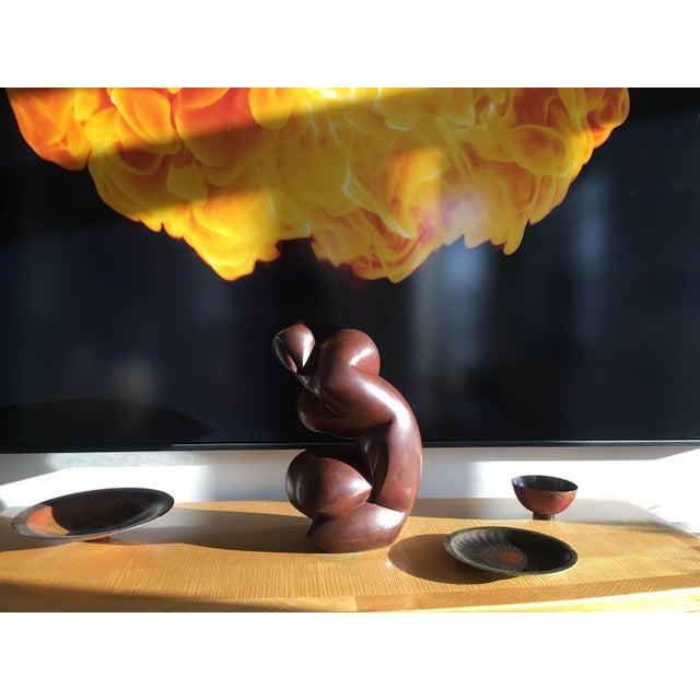 Original Bronze Sculpture by Dominique Pollès For Sale - Image 4 of 9