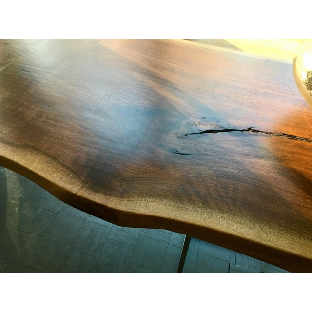 Live Edge Walnut Table Desk - Image 9 of 10