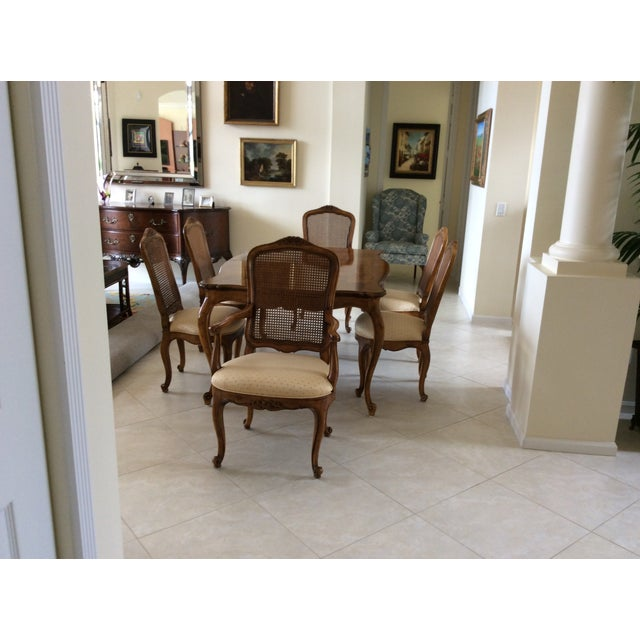 Henredon French Provincial Dining Room Set - S/7 - Image 3 of 7