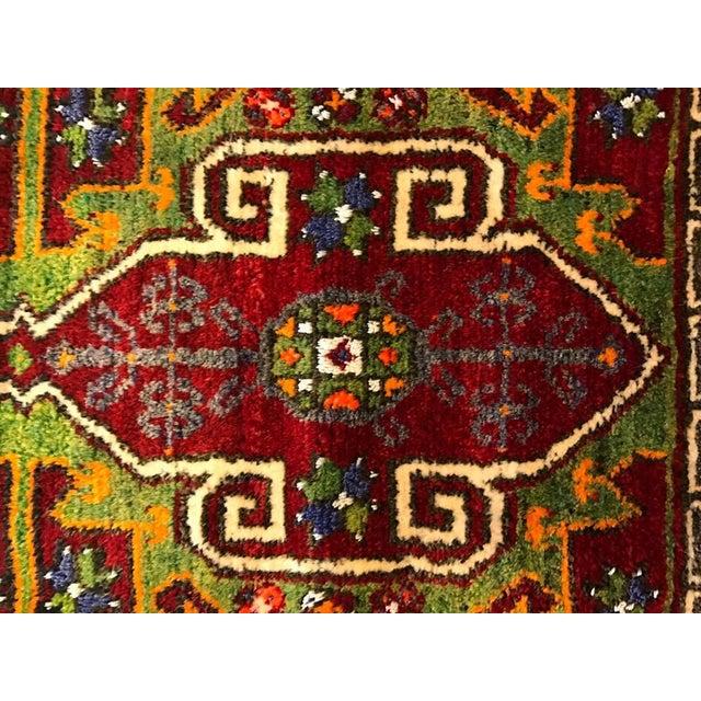 "Vintage Baho Anatolian Turkish Rug - 1'8"" X 4'2"" - Image 4 of 7"