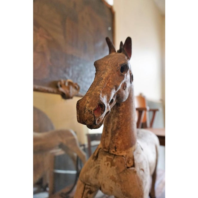 19th Century Wooden Horse For Sale - Image 9 of 11