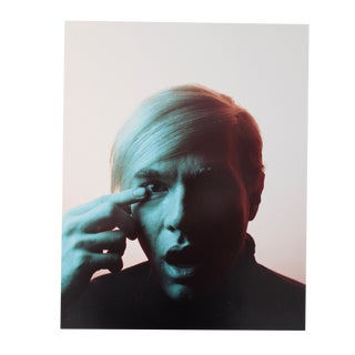 "1989 ""Andy Warhol, 1968"" Portrait by Philippe Halsman, From Ed. 91/100 For Sale"