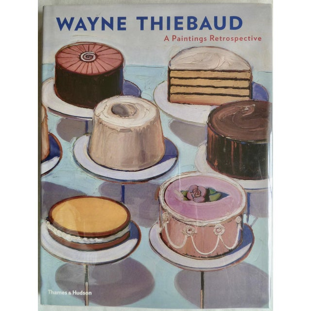 Gray Wayne Thiebaud Retrospective Book For Sale - Image 8 of 8