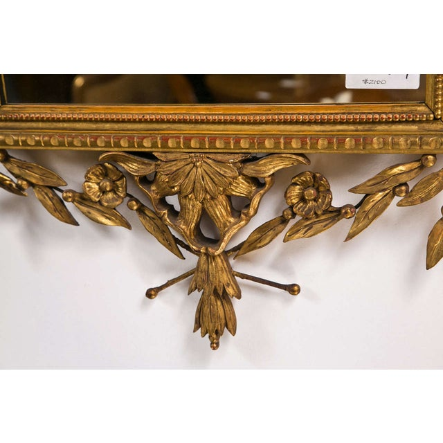 Italian Giltwood Mirror For Sale - Image 4 of 9