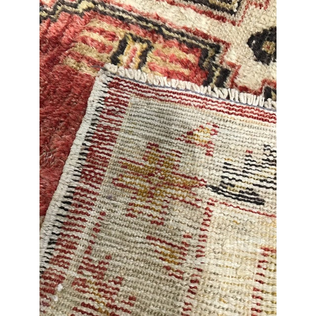 Textile Late 20th Century Vintage Turkish Rug- 2′8″ × 4′9″ For Sale - Image 7 of 8