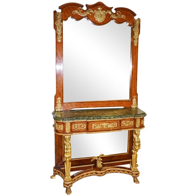 French Louis XVI-Style Sideboard - Image 1 of 8