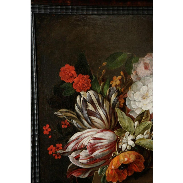 18th C. Dutch Still Life Oil Painting For Sale - Image 4 of 11