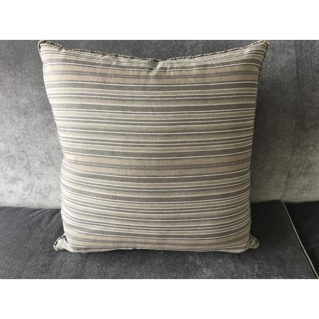 Christian Liaigre Linen Throw Pillow - Image 6 of 7