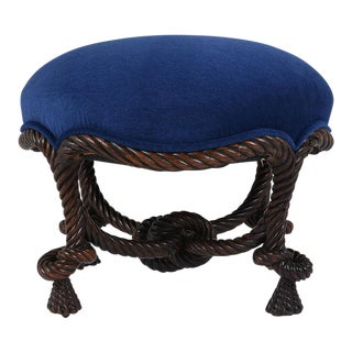 Traditional 19th Century Louis XVI Ottoman or Stool