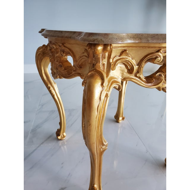 Louis XV/ Baroque classic coffee table This coffee table are handmade on the model of the classic furniture in vogue...