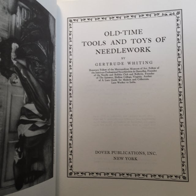 Traditional 'Old Time Tools & Toys of Needlework' Book For Sale - Image 3 of 9