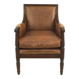 English Sheraton Mahogany Arm Chair For Sale