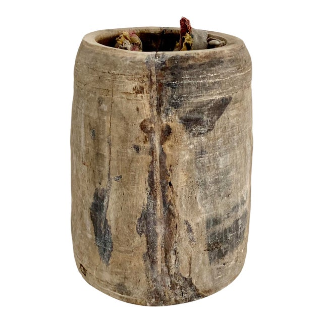 Hanging Rustic Wood Honey Pot For Sale