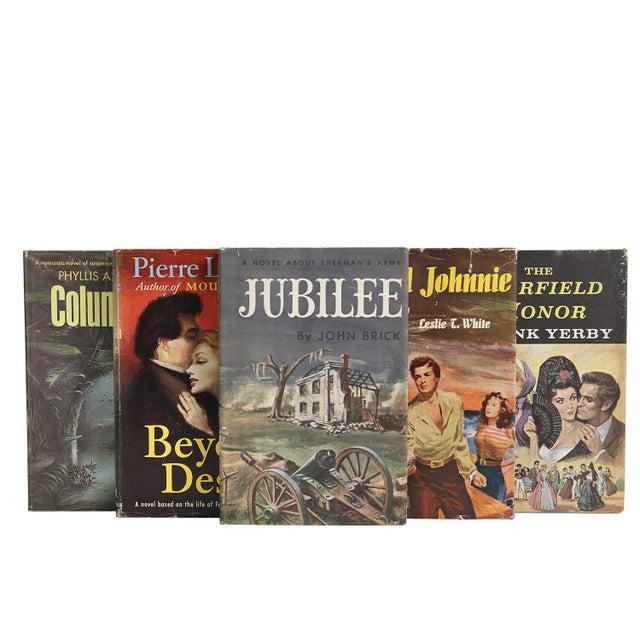 Midcentury Book Gift Set: Dustjacket Novels, S/5 For Sale - Image 4 of 5