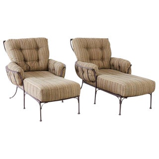 Pair of O. W. Lee Monterra Chaise Lounges For Sale