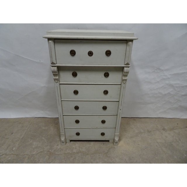 6 Drawer Swedish Chest For Sale In Miami - Image 6 of 6