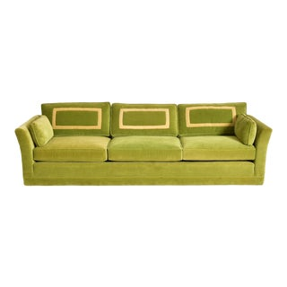 Vintage Hollywood Regency Sofa For Sale