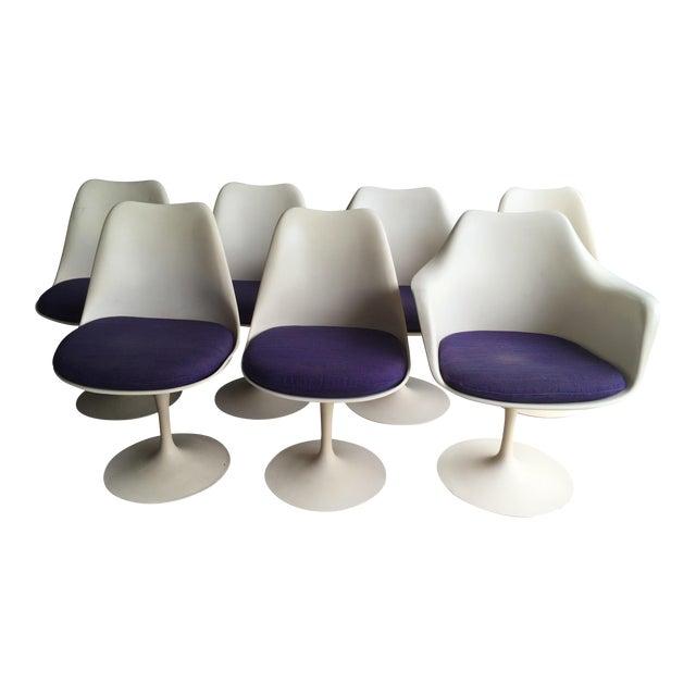 Knoll Saarinen Tulip Chairs - Set of 7 - Image 1 of 11